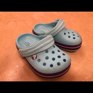 Crocs little baby size 5